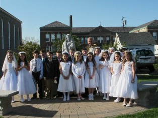 First Eucharist children